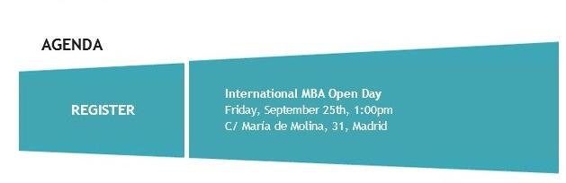 agenda open day